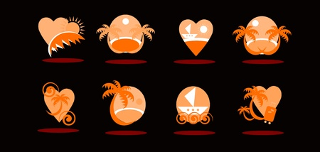 travel icons  Stock Vector - 9935647