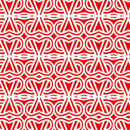 wattled: Abstract vintage  wallpaper pattern seamless background - Geometric Vector illustration