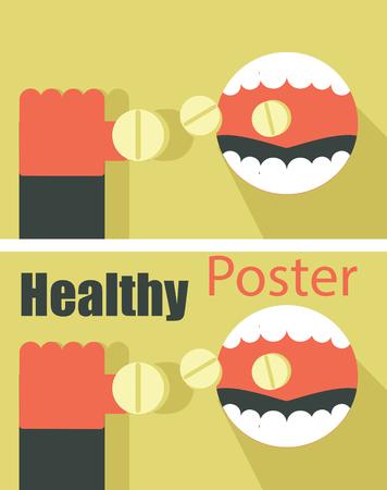 pharma: Health. Pills. Pharma. Medicine concept poster