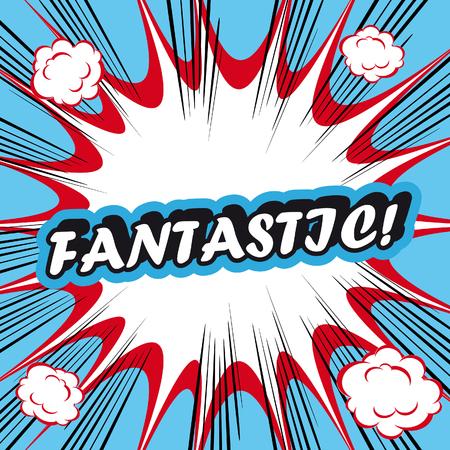 fantastic: Pop Art explosion Background Fantastic!