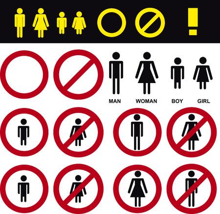 dont walk: no enter sign