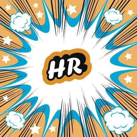 hr: HR human resource boom background