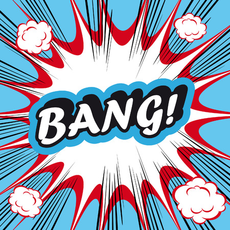 bang: Pop Art explosion Background Bang!