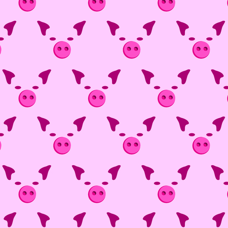 Piggy background Simple print paper, animal background, pig Stock Photo