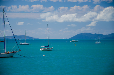 whitsunday: A beautiful day in the Whitsunday Islands.
