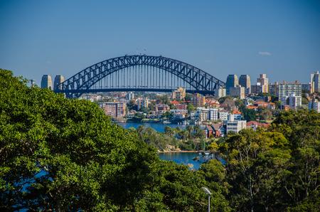 downunder: The famous coathanger, one of Sydneys landmarks.