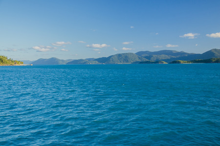 lonesomeness: Whitsunday Islands with Dunk Island on the left hand side.
