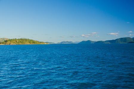 lonesomeness: Dunk Island in the Whitsunday Islands, Australia.