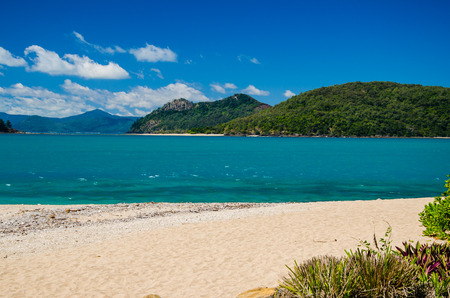 whitsundays: View from Daydream Island into the island world of the Whitsundays.