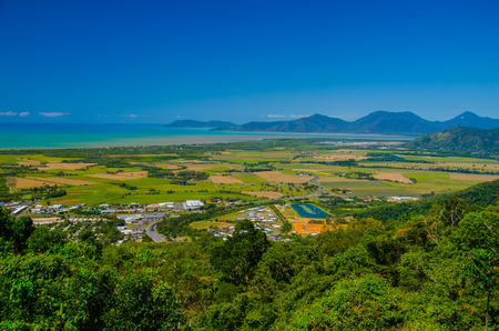 henry: View from the Henry Ross Lookout at the surrounding areas of Cairns.