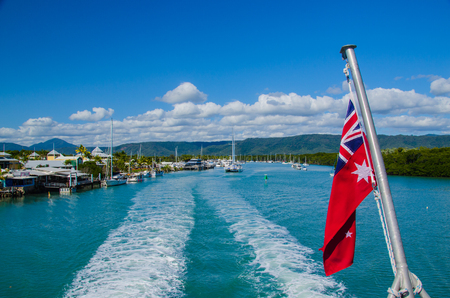 port douglas: Port Douglas, starting point for boat trips into the Great Barrier Reef.