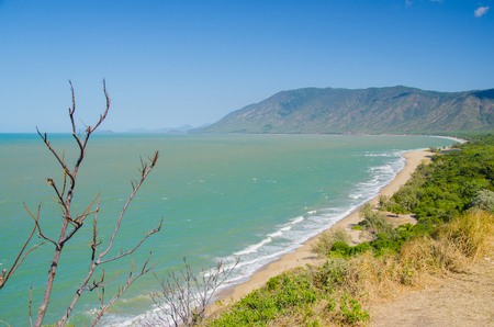 cairns: Coastline between Port Douglas and Cairns, Queensland, Australia. Stock Photo