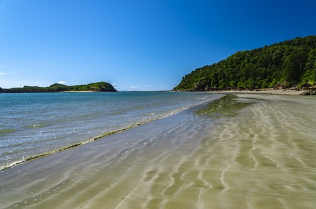 Remote beach in tropical Queensland, Australia.