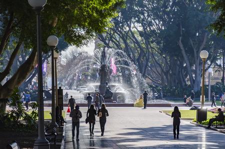 hyde: Archibal Fountain, Hyde Park, Sydney