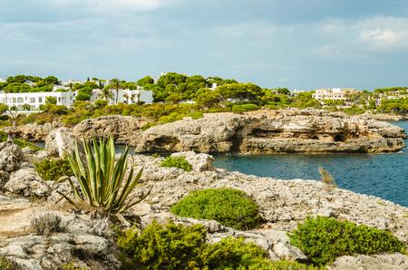 Idyllic holiday village on Mallorca island. Banco de Imagens - 118661265