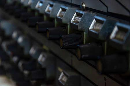 radio transceiver Stock Photo
