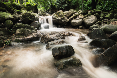 Waterfall at chiang rai in Thailand
