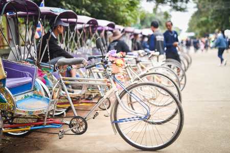 Thailand tricycle, Thai old style transportation