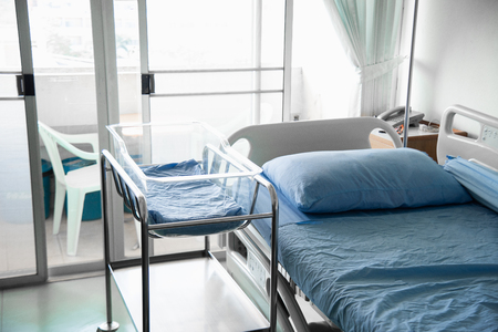modern and comfortable equipped hospital room Stock fotó