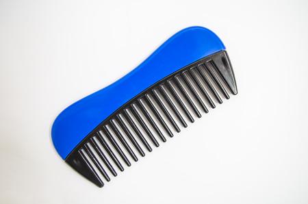 comb: Cosmetic comb Stock Photo
