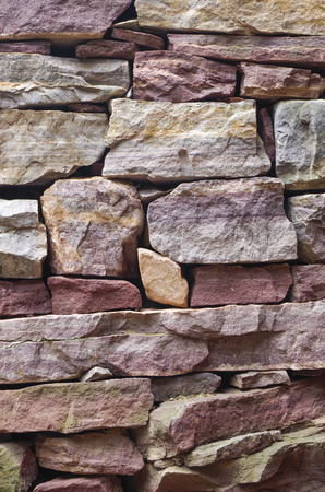 crevice: wall