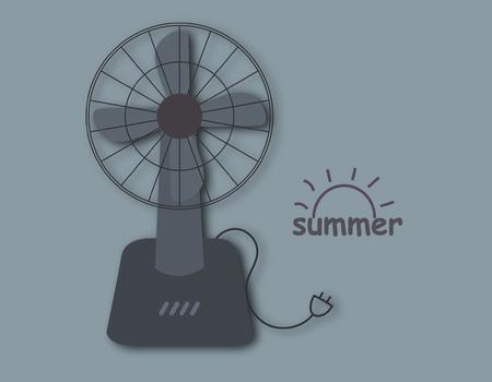 electrical appliance: Electric fan