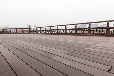 wooden plank ground