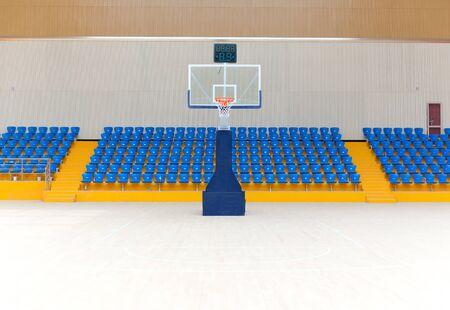 Basketball court environment