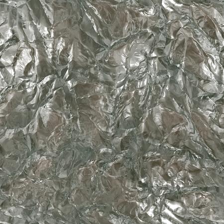 lustrous: Aluminum foil seamless texture illustration