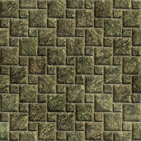 Sidewalk blocks background illustration Stock Illustration - 15019086