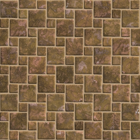 paving stone: Sidewalk blocks seamless abstract background illustration