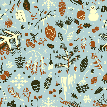 rowan: Seamless winter pattern