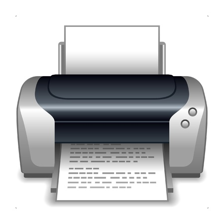 Printer Stock Vector - 14125711