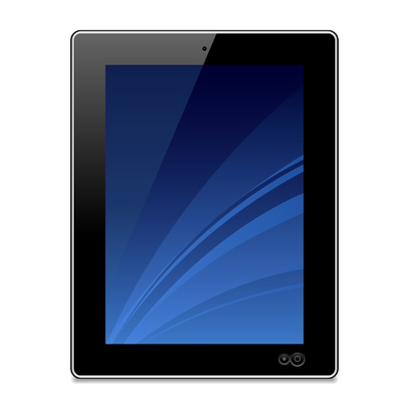 touchpad: Tablet Illustration