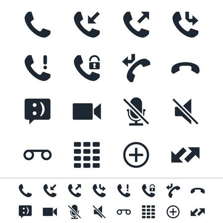 telephone: Iconos de tel�fono