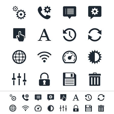 D�finition des ic�nes