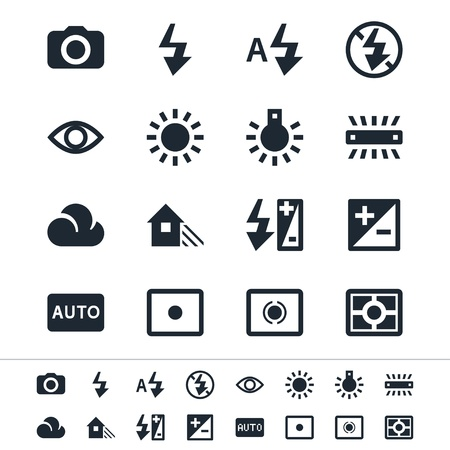 photography icons: Photography icons