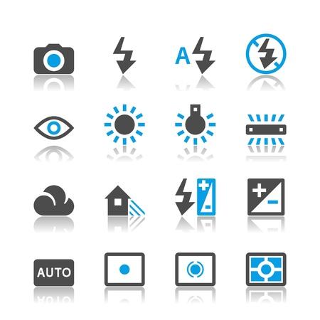 partial: Iconos de Fotograf�a - tema de reflexi�n