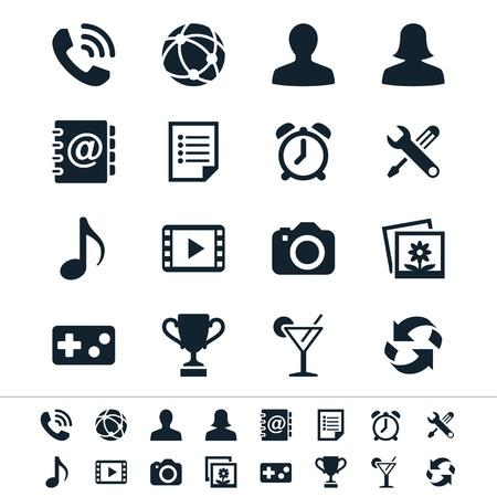 Les ic�nes d'application