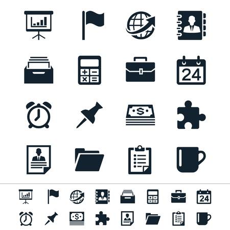 Biznes i biuro ikony