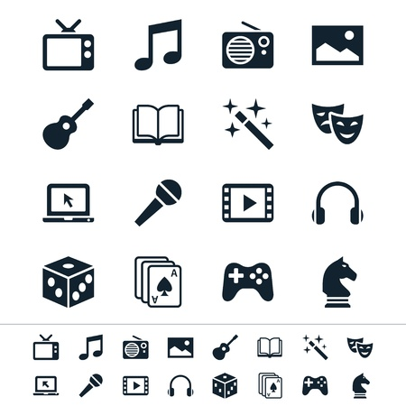 Entertainment iconen