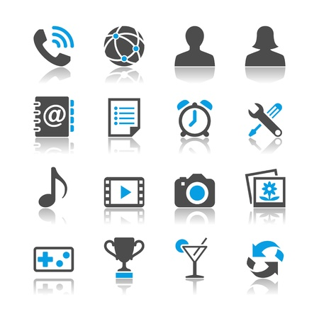 lady clock: Application icons