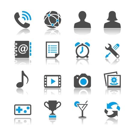 joypad: Iconos de aplicaciones Vectores
