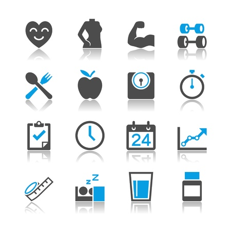 Simple vector icons. Clear and sharp. Easy to resize. EPS10 file contains opacity masks. Vector