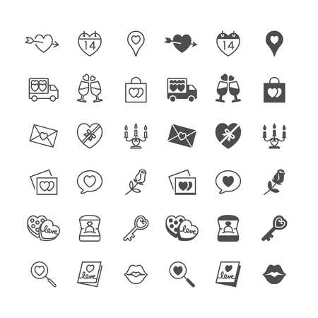diamond candle: Valentines day icons, included normal and enable state.