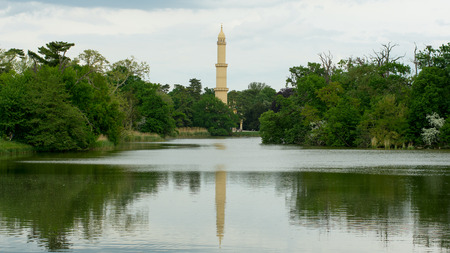 minaret: Tower of Minaret in the meander
