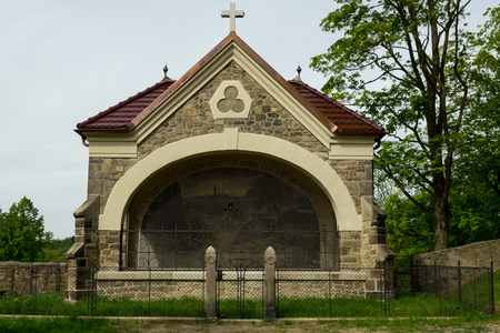 Stone catholic chapel