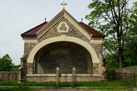 catholic chapel: Stone catholic chapel