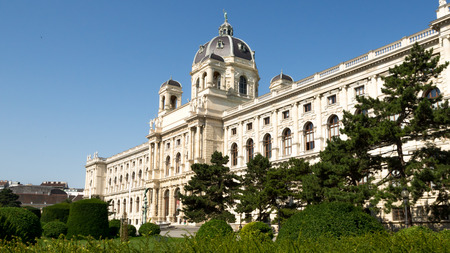 Museum of Natural History in Vienna Editorial