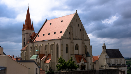 St Nicolas Church in Znojmo